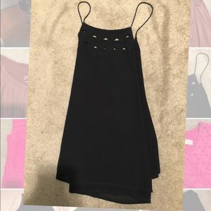 Halter neck tanktop with subtle detailing